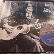 Discos de vinilo: PACK 3 LPS + LIBRETO DE ROBERT JOHNSON. THE COMPLETE RECORRIMOS. EDICIÓN COLUMBIA DE 1990 USA. . Lote 131038056