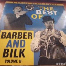 Discos de vinilo: BARBER AND BILK. THE BEST OF... VOL. II. EDICIÓN GOLDEN GUINEA UK.. Lote 131038368