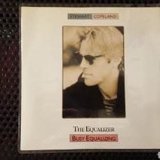 Discos de vinilo: SINGLE - STEWART COPELAND (THE POLICE)– THE EQUALIZER BUSY EQUALIZING LABEL: I.R.S. RECORDS –IRM 147. Lote 131040561