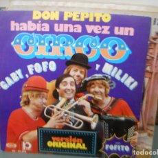 Discos de vinilo: HABIA UNA VEZ UN CIRCO. Lote 131042068