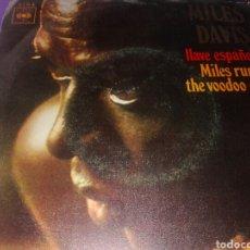 Discos de vinilo: DISCO VINILO MILES DAVIS. Lote 131050840