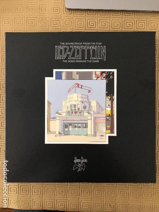 LED ZEPPELIN ?– THE SOUNDTRACK FROM THE FILM THE SONG REMAINS THE SAME SELLO: SWAN SONG ?– R1 357564 (Música - Discos - LP Vinilo - Rock & Roll)