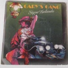 Discos de vinilo: GARY'S GANG - SIGUE BAILANDO (KEEP ON DANCIN'). Lote 131052336