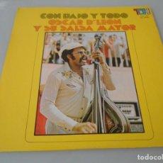 Discos de vinilo: X- OSCAR DE LEÓN Y SU SALSA MAYOR - LP MADE IN VENEZUELA. Lote 131052820