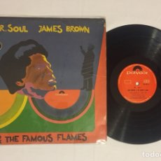 Discos de vinilo: JAMES BROWN & THE FAMOUS FLAMES - MR. SOUL LP (EDICIÓN COLOMBIA) MUY RARO!. Lote 131076308