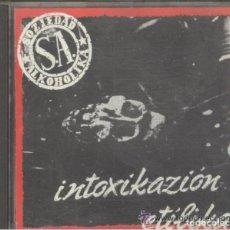 Discos de vinilo: SOZIEDAD ALKOHÓLIKA: INTOXICACION ETILIKA CD . Lote 131076420
