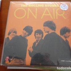 Discos de vinilo: THE ROLLING STONES. GRABACIONES EN LA RADIO. 2 LPS PORTADA DOBLE Y NUEVO A ESTRENAR. Lote 131080128