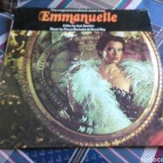 Discos de vinilo: EMMANUELLE LP SOUNDTRACK 1975. Lote 131080653