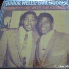 Discos de vinilo: JUNIOR WELLS Y EARL HOOKER. R&B. 2 LPS EN MUY BUEN ESTADO. Lote 131082508