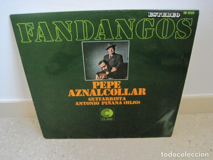 PEPE AZNALCOLLAR FANDANGOS (Música - Discos - LP Vinilo - Flamenco, Canción española y Cuplé)