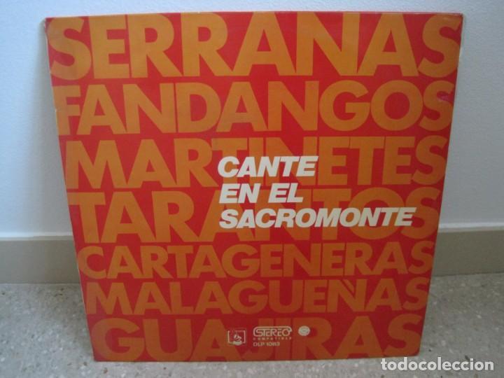 CANTE EN EL SACROMONTE (Música - Discos - LP Vinilo - Flamenco, Canción española y Cuplé)