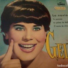 Discos de vinilo: GELU- LA NOVIA - SPAIN EP 1961 - VINILO EXC. ESTADO.. Lote 131090028