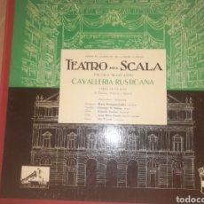 Discos de vinilo: OPERA MARIA CALLAS (CABALLERÍA RUSTICANA )TEATRO SCALA. Lote 131093993