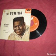 Discos de vinilo: EP FATS DOMINO 1959 ESP -MUCHO AMOR- COQUETA-CUANDO ENTREN LOS SANTOS- CANTANDO MENTIRAS. Lote 131096008