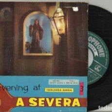 Discos de vinilo: FERNANDA MARIA EP FADO ESTILISADO + 3 PORTUGAL. Lote 131097696