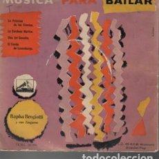 Discos de vinilo: DISCO EP MUSICA PARA BAILAR - RAPHA BROGIOTTI Y SUS ZINGAROS. Lote 131099272