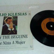 Discos de vinilo: JULIO IGLESIAS EP BEGIN THE BEGUINE LONDON 1981. Lote 131105696