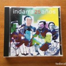 Discos de vinilo: CD INDARRA 25 AÑOS BILBAINADAS. Lote 131107452