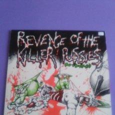 Discos de vinilo: GENIAL LP.VARIOUS . REVENGE OF THE KILLER PUSSIES (BLOOD ON THE CATS #2).EDICCION INGLESA AÑO 1984. . Lote 131116984