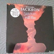 Discos de vinilo: MICHAEL JACKSON-SCREAM.MAXI. Lote 131117412