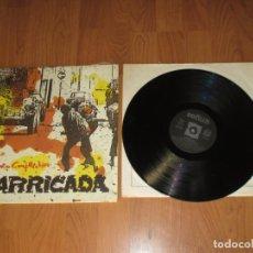 Discos de vinilo: BARRICADA - BARRIO CONFICTIVO - SPAIN - SOÑUA - REF S-120 - INCLUYE ENCARTES - T - . Lote 131117696