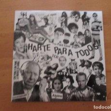Discos de vinilo: HARTE PARA TODOS THY SURFYN´ EYES LOS PART-TIME POPS TCR ALPINO HARTE! 2004 COMO NUEVO. Lote 131129740