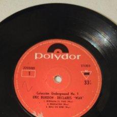 Discos de vinilo: ERIC BURDON BAND & WAR. Lote 131131083