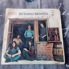 Discos de vinilo: POCO ES BUENO SABERLO - EPC 8240. Lote 131131792
