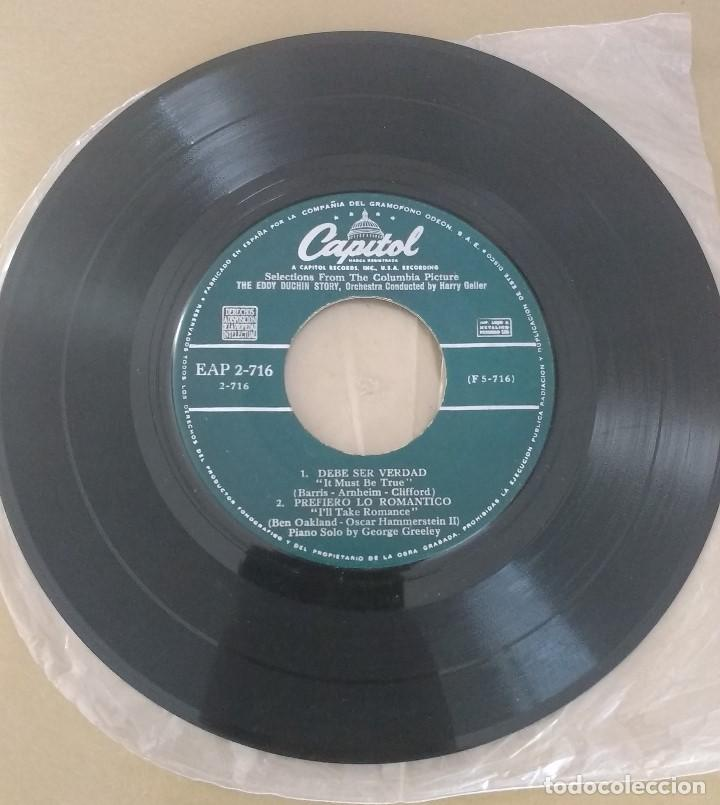 SELECTONS FROM THE EDDY DUCHIN STORY. SOLO DISCO (Música - Discos de Vinilo - EPs - Jazz, Jazz-Rock, Blues y R&B)