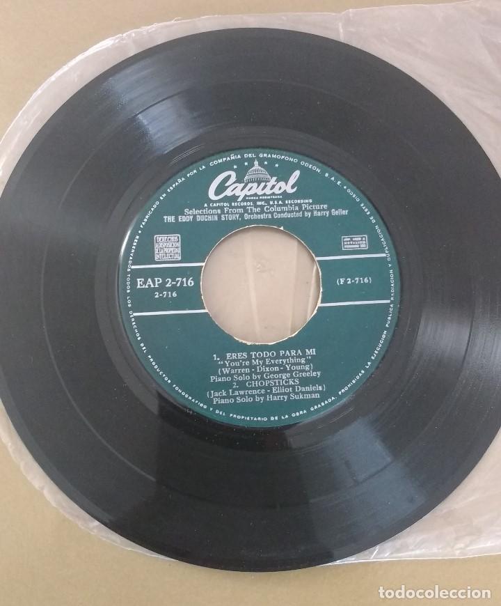 Discos de vinilo: Selectons From The Eddy Duchin Story. SOLO DISCO - Foto 2 - 131132004