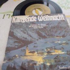 Discos de vinilo: KLINGENDE WEIHNACHT, KOMMET IHR HIRTEN, IHR KINDERLEIN KOMMET, STILLE NACHT.. Lote 131142184