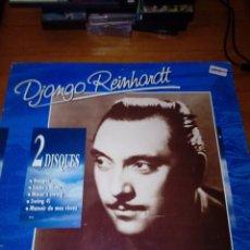 Discos de vinilo: DJANGO REINHARDT. 2 DISCOS. NUAGES. EDDIE´S BLUES. MINOR´S SWING... C3V. Lote 131147660