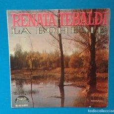Discos de vinilo: LA BOHEME - RENATA TEBALDI. Lote 131174680
