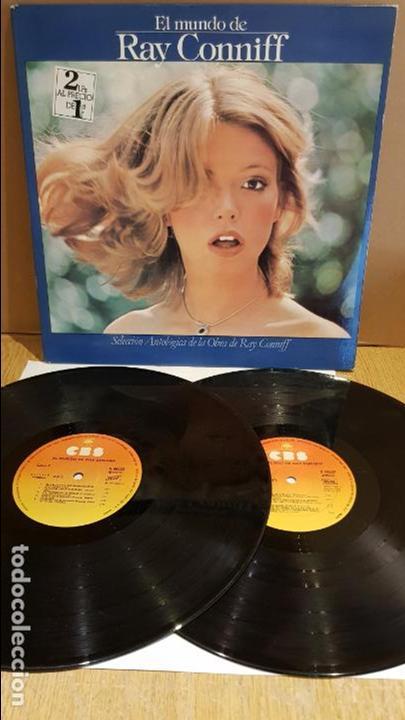 EL MUNDO DE RAY CONNIFF / DOBLE LP-GATEFOLD - CBS - 1977 / MBC. ***/*** (Música - Discos - LP Vinilo - Orquestas)