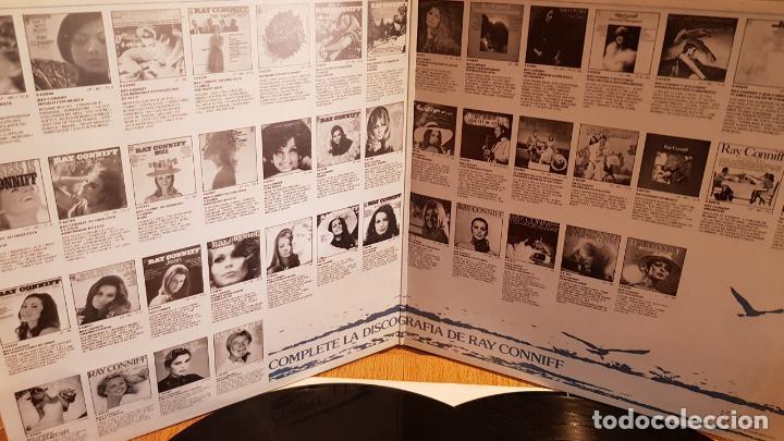 Discos de vinilo: EL MUNDO DE RAY CONNIFF / DOBLE LP-GATEFOLD - CBS - 1977 / MBC. ***/*** - Foto 2 - 131175400