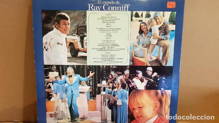 Discos de vinilo: EL MUNDO DE RAY CONNIFF / DOBLE LP-GATEFOLD - CBS - 1977 / MBC. ***/*** - Foto 3 - 131175400