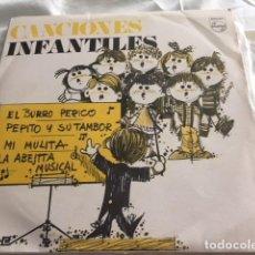 Discos de vinilo: CANCIONES INFANTILES: DISCO REGALO MG / CORO DE LAS ESCUELAS AVEMARÍAS. Lote 131181620