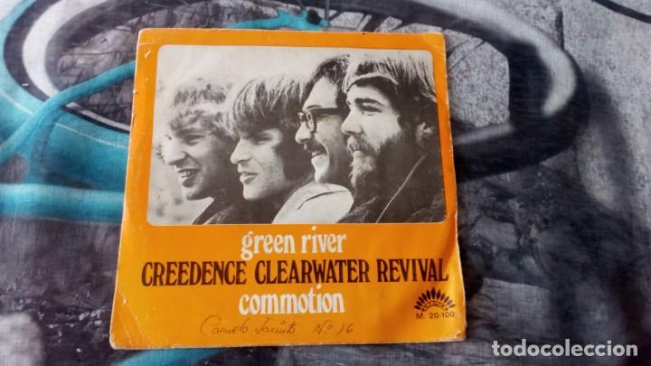 Discos de vinilo: Creedence Clearwater-Revival – Green River / Commotion - America Records – M-20.100 - 1969 - Foto 1 - 131196768