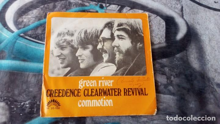 Discos de vinilo: Creedence Clearwater-Revival – Green River / Commotion - America Records – M-20.100 - 1969 - Foto 2 - 131196768