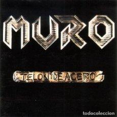 Discos de vinilo: MURO – TELON DE ACERO - VINYL, LP, ALBUM ORIGINAL 1988 AVISPA- THRASH METAL SPAIN (CROM, FUCK OFF). Lote 131200192