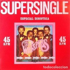 Discos de vinilo: THE WHISPERS - THIS KIND OF LOVE / WHAT WILL I DO (1981) MAXI-SINGLE 12'' NUEVO. Lote 131203208
