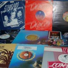 Discos de vinilo: VINILOS LOTE DE 9 VINILOS DISCO MUSIC DANCING AÑOS 70-80 DESCATALOGADOS. Lote 131225152