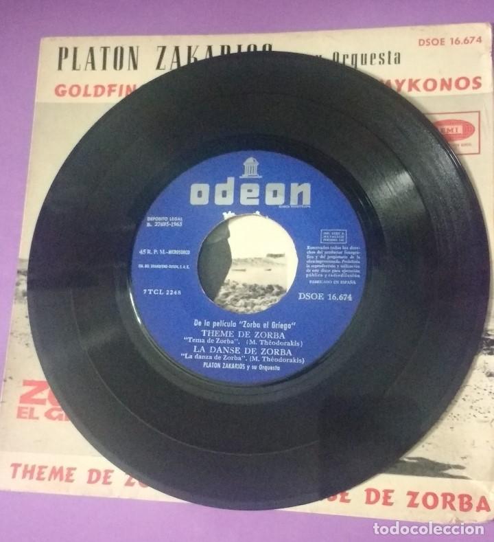 Discos de vinilo: PLATON ZAKARIOS Y ORQUESTA - ZORBA EL GRIEGO. BSO - Foto 4 - 202330930