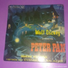 Discos de vinilo: PETER PAN. WALT DISNEY. Lote 131230787