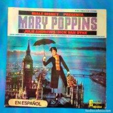 Discos de vinilo: MARY POPPINS. - JULIE ANDREWS. DICK VAN DYKE. - WALT DISNEY. Lote 131232387