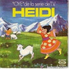 Discos de vinilo: HEIDI (OYE) + EL DIA SE ACABÓ - SINGLE MOVIEPLAY 1985. Lote 131232999