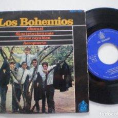 Discos de vinilo: LOS BOHEMIOS - AEROPUERTO +3 - EP HISPAVOX 1965. Lote 131235435
