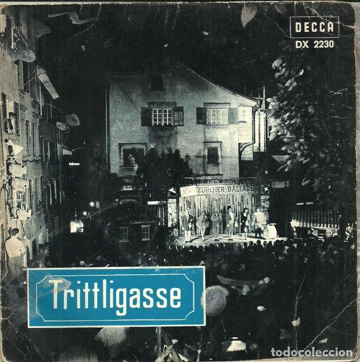 TRITTLIGASSE - DECCA (Música - Discos de Vinilo - EPs - Orquestas)