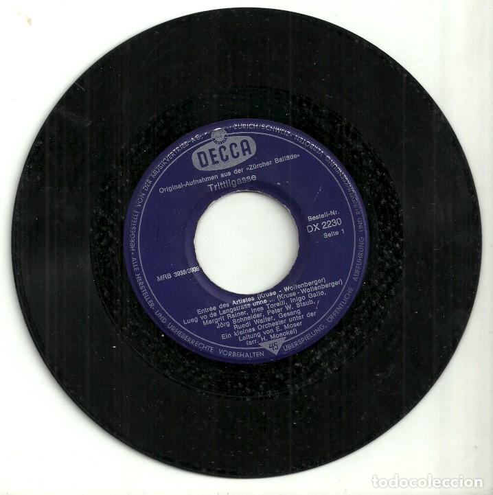 Discos de vinilo: TRITTLIGASSE - DECCA - Foto 2 - 131236955