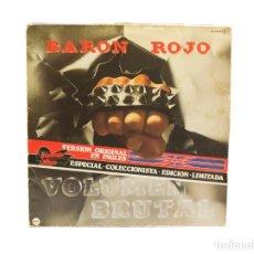 Discos de vinilo: LP. BARÓN ROJO. VOLUMEN BRUTAL (VERSION ORIGINAL EN INGLES) (VG/VG). Lote 131239583